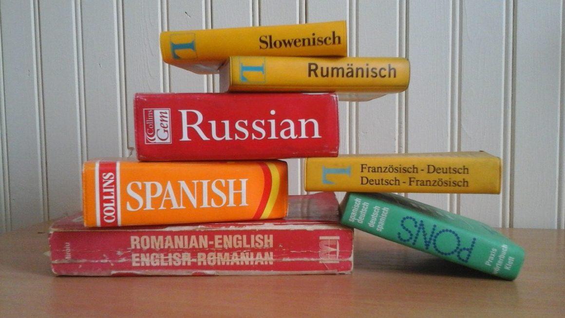 Trabajo de Traductor Freelance: Diccionarios de Idiomas