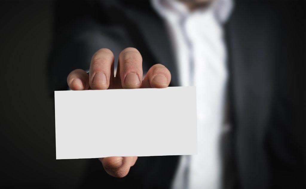 Cómo Promocionar Un Servicio Profesional: Tarjetas
